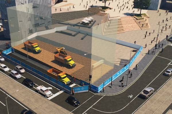 Article image for Metro tunnel works set to result in lane closure on Flinders St for four years