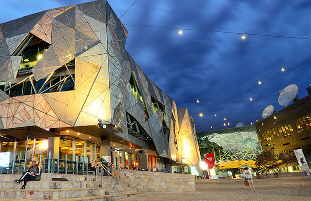 Article image for National Trust chief tries to convince Neil Mitchell why Fed Square should be heritage-listed