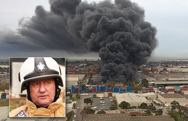 Article image for Footscray factory fire: What the MFB knows about what's burning inside