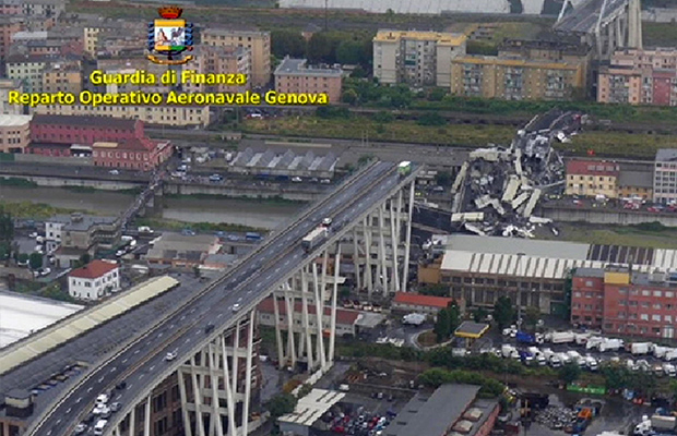 Article image for International news wrap: Suspected London terror attack, dozens killed in Italian bridge collapse