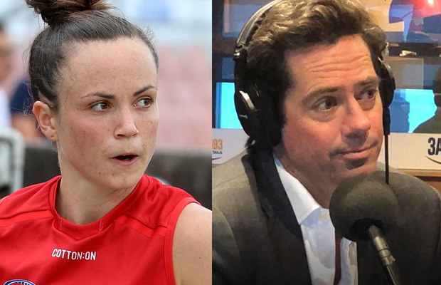 Article image for No bigger priority than AFLW: Gil McLachlan responds to Daisy Pearce criticism