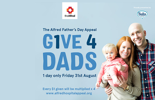 Article image for 3AW live from The Alfred for #Give4Dads — Donate here