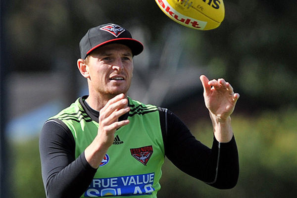 Article image for Goddard told he won't be offered contract at Essendon in 2019