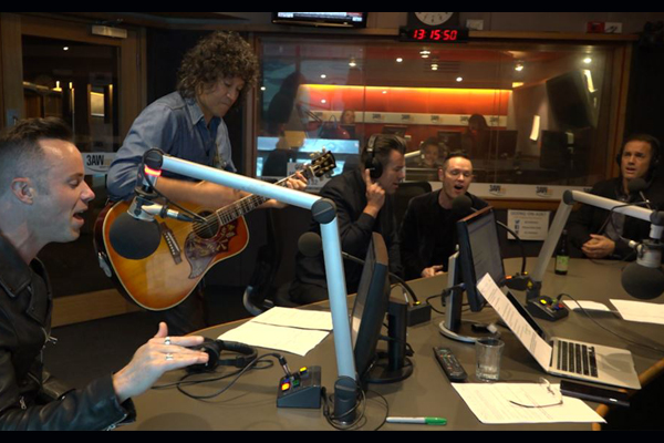 Article image for Human Nature perform their new single in the 3AW studio