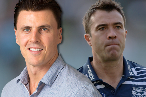Article image for Matthew Lloyd responds to Chris Scott's jibe at 'ex-players from the 90s'
