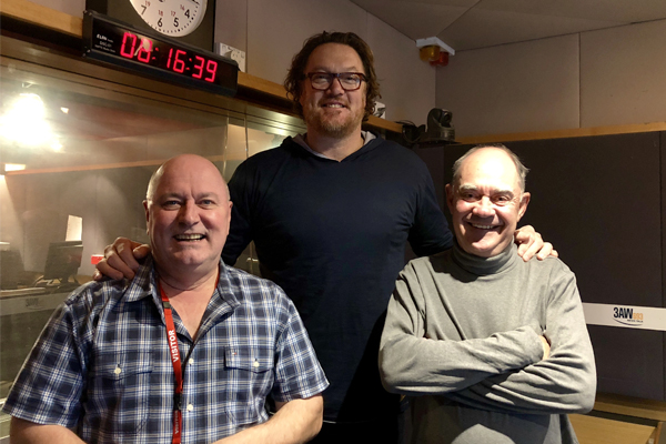 Article image for Australian basketball legend Luc Longley in the studio with Ross and John