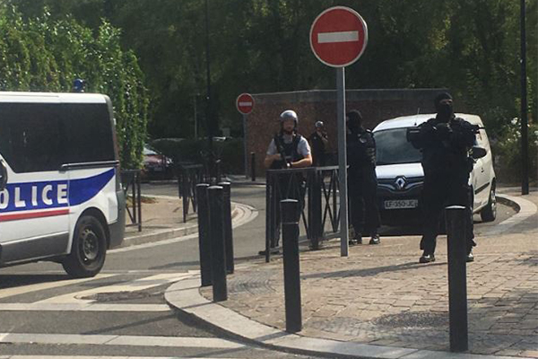 Article image for Two dead, one injured following knife attack in northern France