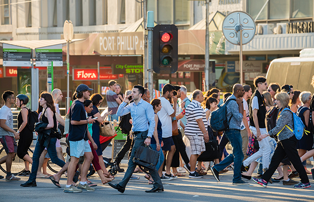 Article image for Why Victorians are engaging in 'risky' pedestrian behaviour