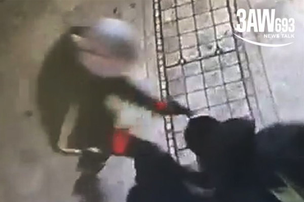 Article image for FIRST ON 3AW: CCTV of violent bashing and car theft in Melbourne's south-east