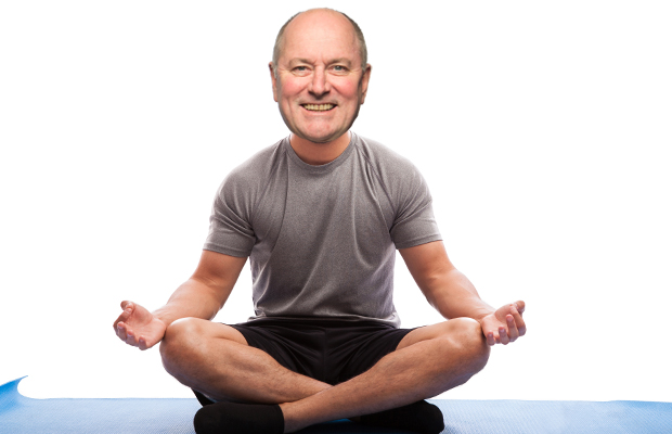 Article image for The story and interview that convinced Ross to take up yoga