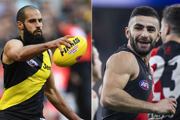 Article image for Richmond not expecting crowd backlash ahead of Houli and Saad coin toss