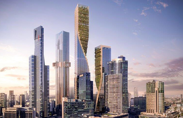 Article image for $2b 'Green Spine' set to tower over Melbourne