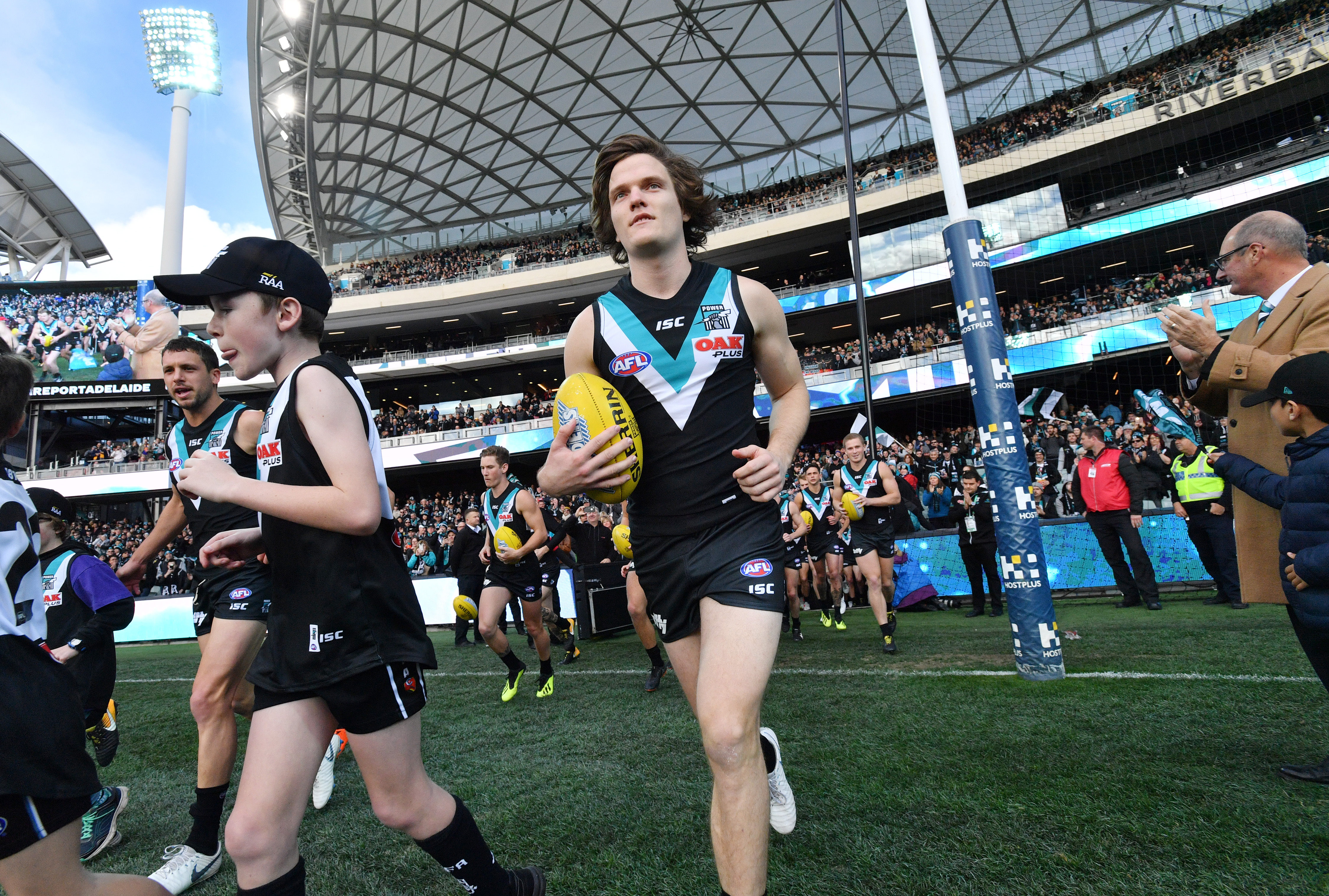 Article image for Talks between Port Adelaide and Jared Polec break down