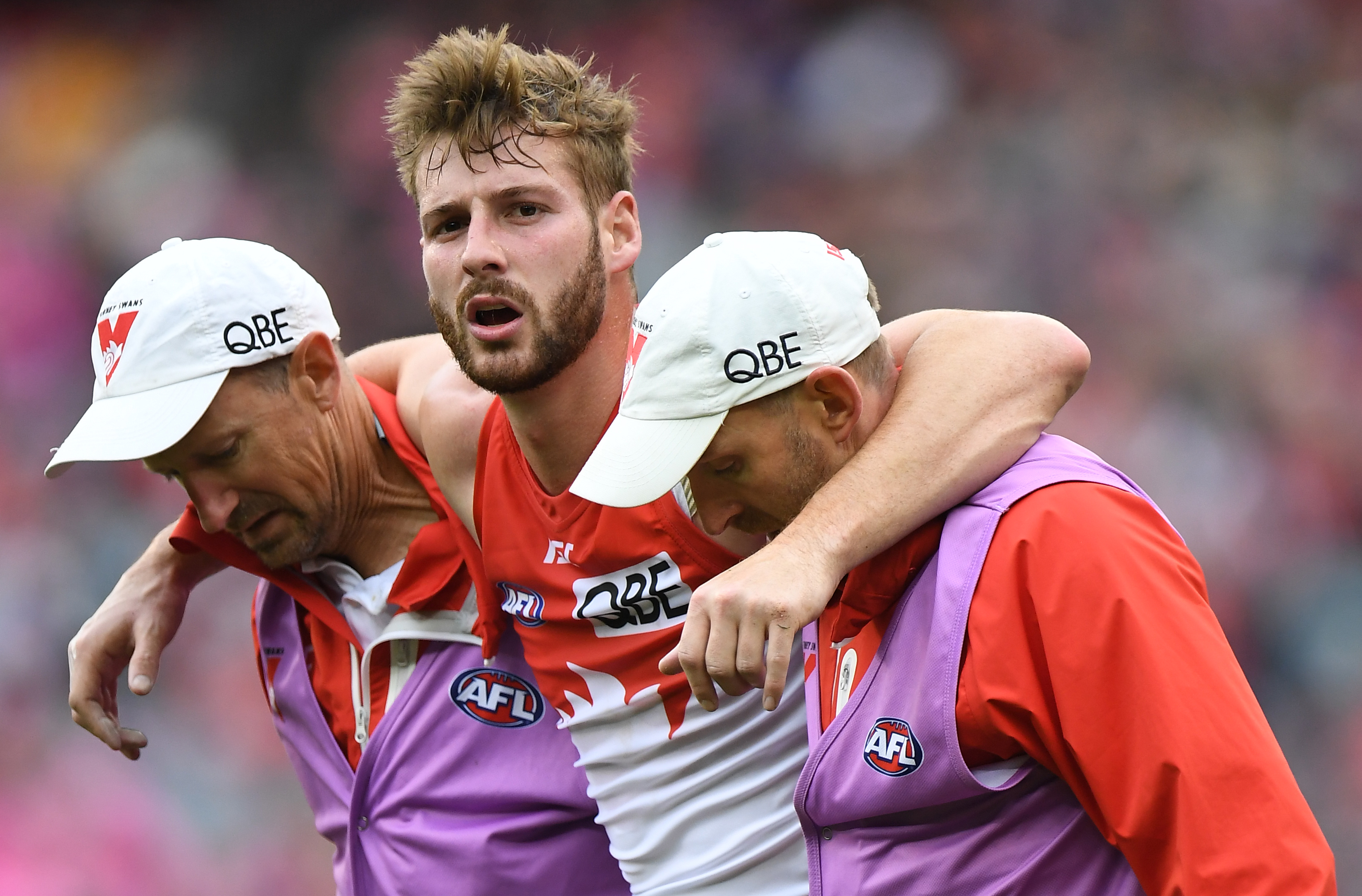 """Article image for Alex Johnson """"wouldn't be surprised"""" if Swans land big fish"""