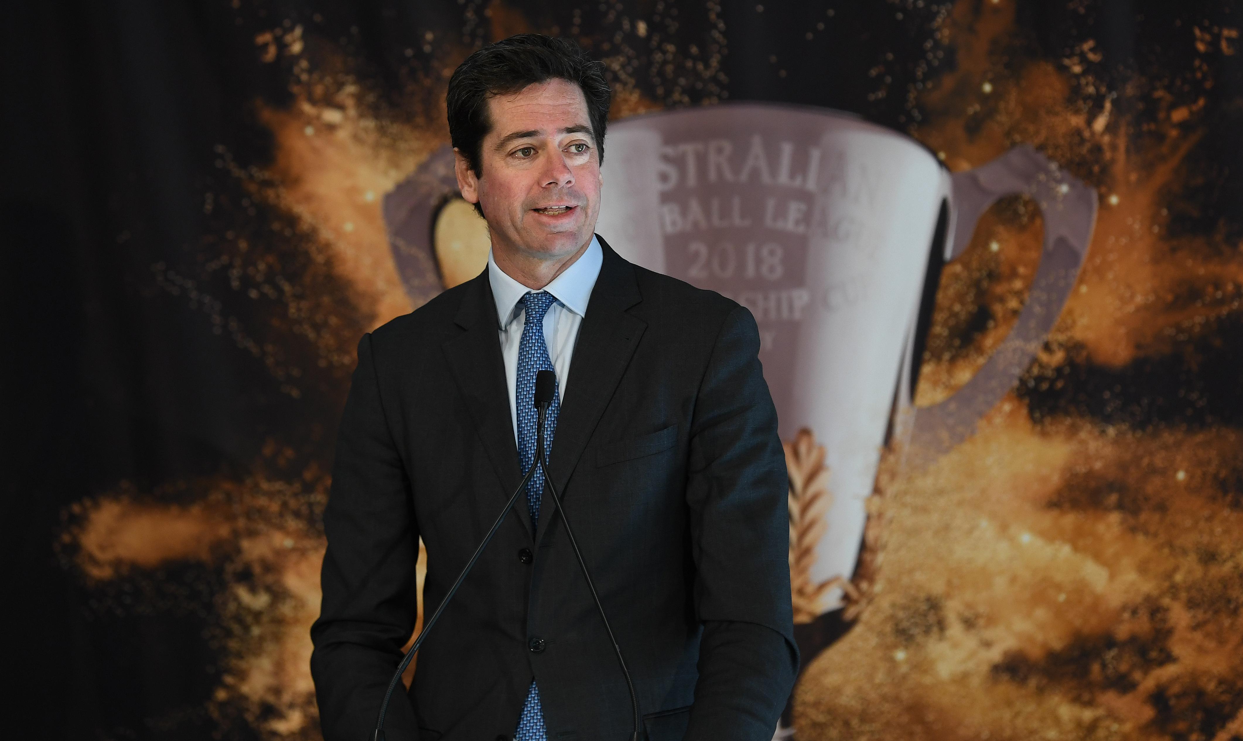 Article image for Mick Warner grills AFL CEO over au pair saga