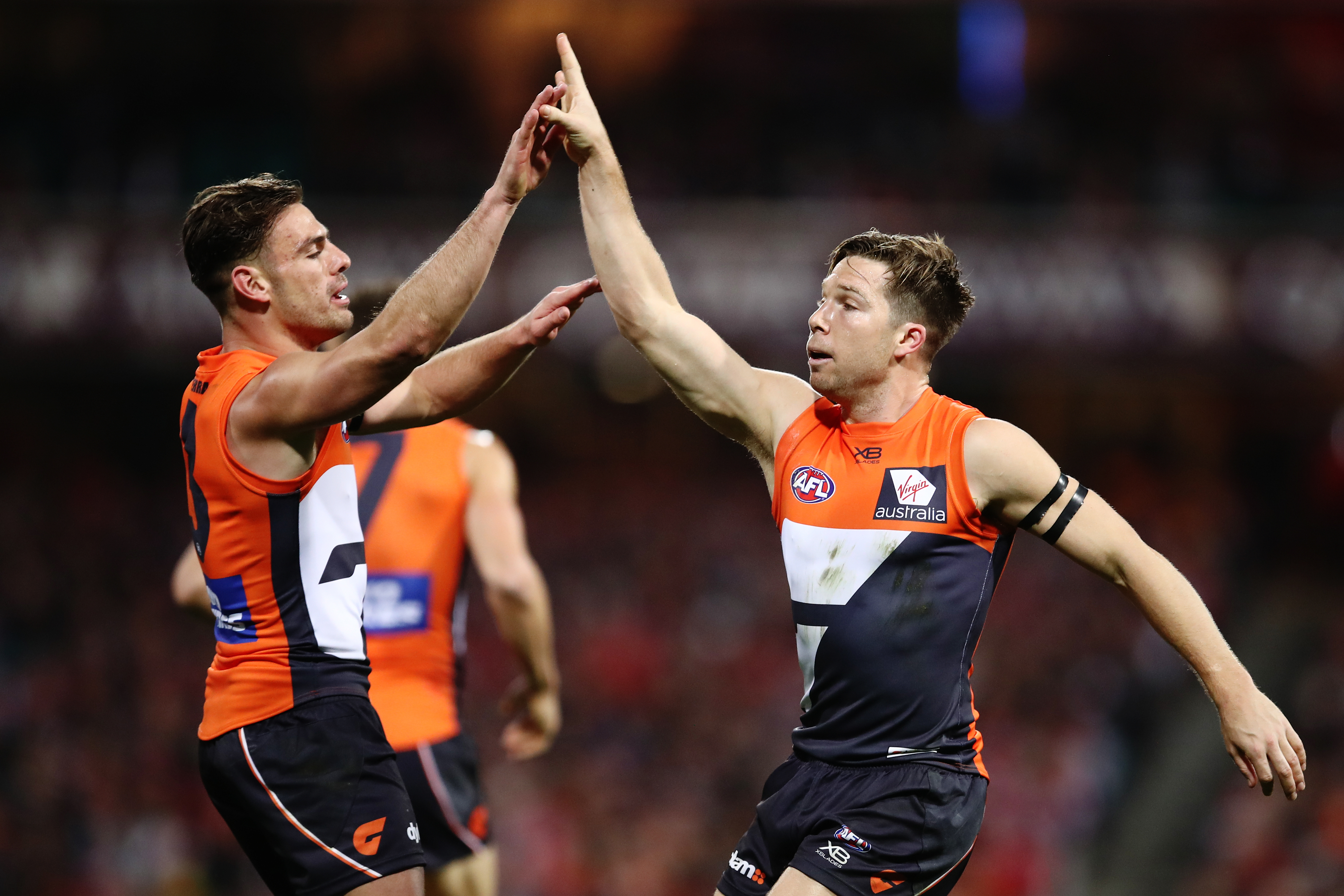 Article image for Giants easily account for Swans in finals fizzer
