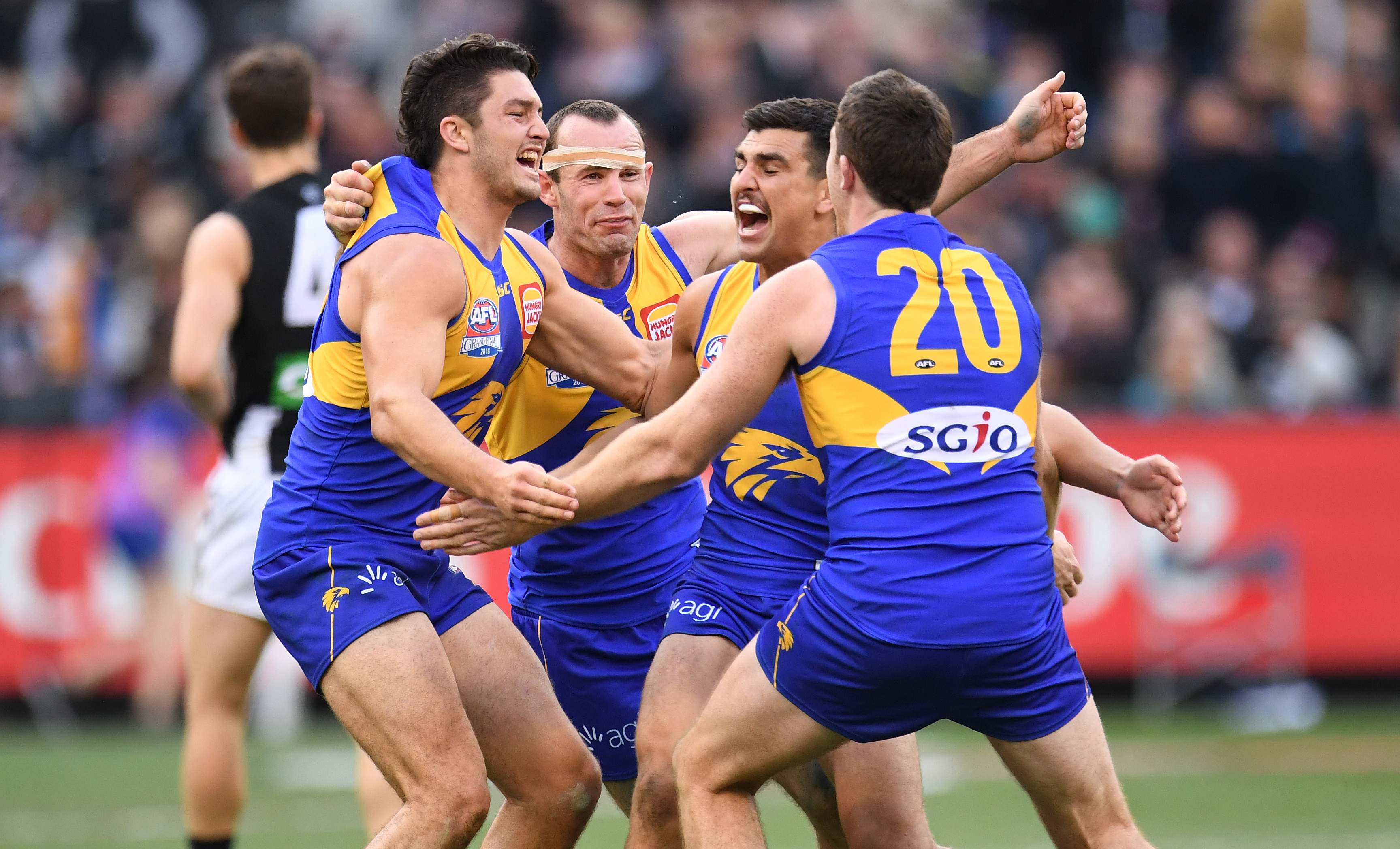 Article image for Sheed thriller seals West Coast premiership