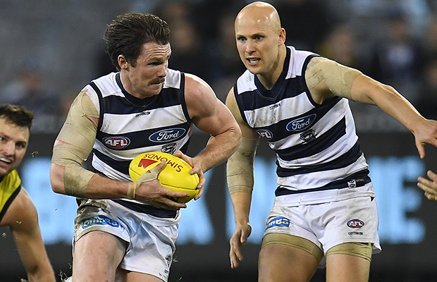 Article image for Why Patrick Dangerfield wants Gary Ablett to start games on the bench!