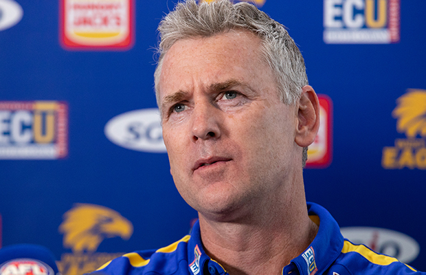 """Article image for Adam Simpson says everyone at his club will use 2015 defeat """"differently"""""""