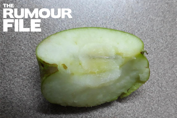 Article image for Rumour File: Needle found in apple bought at Melbourne supermarket