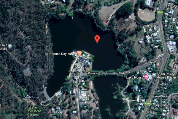 Article image for Woman's body found in Lake Daylesford