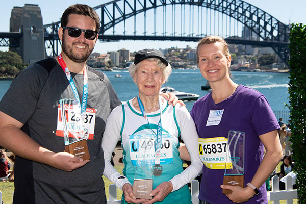 Article image for 91yo champion walker Heather Lee is speeding up, not slowing down
