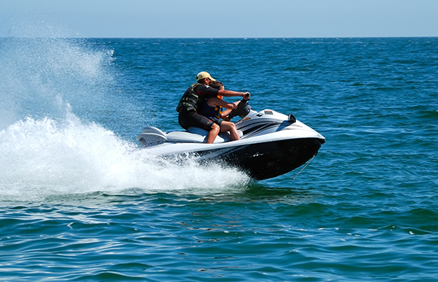 Article image for Calls for CCTV to catch cowboy jet ski antics at Rye