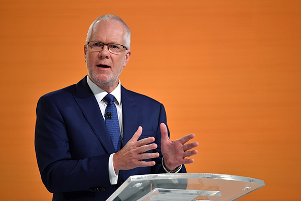 Article image for ABC chair Justin Milne stands down amid mounting pressure