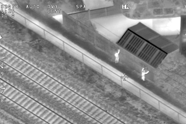 Article image for Metro using drones to catch graffiti vandals across Melbourne's rail network