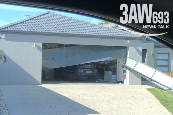 Article image for Car stolen by being reversed out through closed garage door in Melbourne's south-east