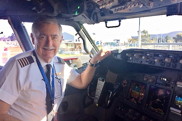 Article image for Rumour File: Qantas pilot Alan Cheers bids farewell after a 60-year career flying high