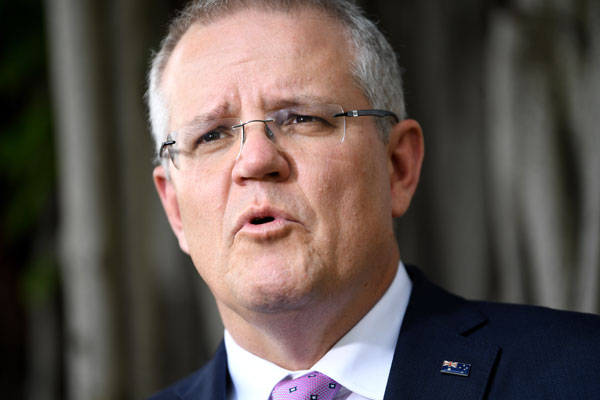Article image for 'I feel for Victorians': PM Scott Morrison says Victoria has a law and order problem