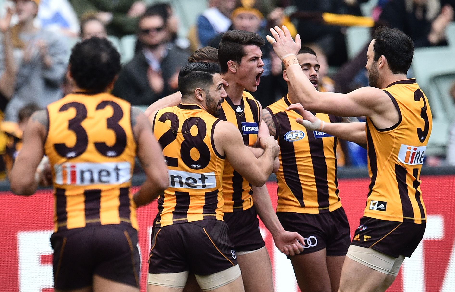 Article image for Hawthorn star officially on the trade table