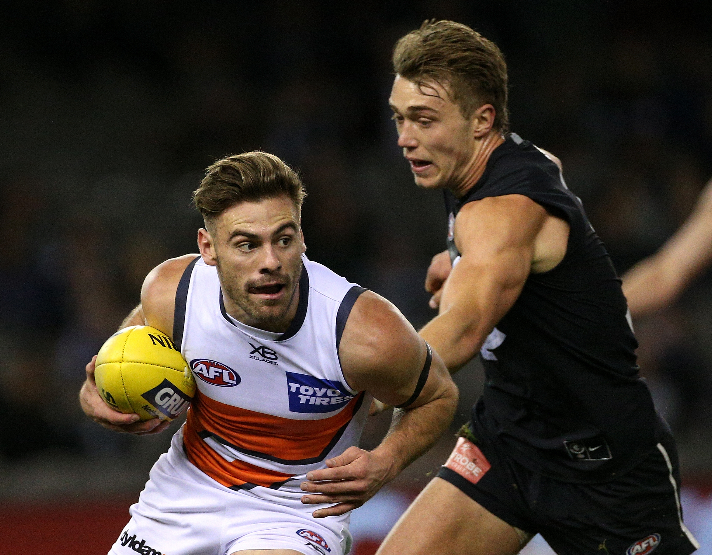 Article image for Former Blues forward urges club to trade pick one if the right player came up