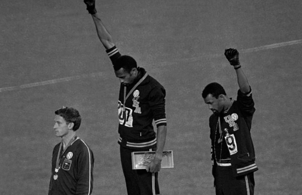 Article image for FLASHBACK: When Neil Mitchell reunited Peter Norman with Tommie Smith and John Carlos on-air!