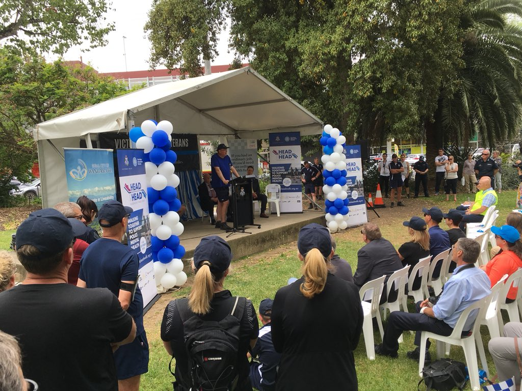 Article image for Victoria Police fundraising walk concludes in Wangaratta