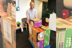 """Brownlow medallist's pantry looking in pretty good """"shape"""" after victory speech!"""