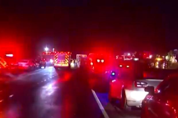 Article image for Twenty people killed in horror US limousine crash