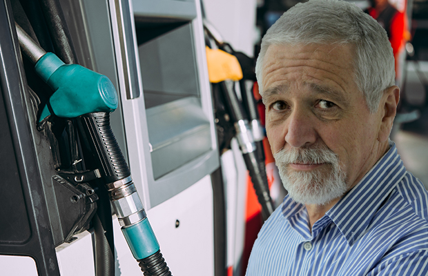 """Article image for """"You've wimped it"""": Neil Mitchell grills Liberal MP over petrol prices"""