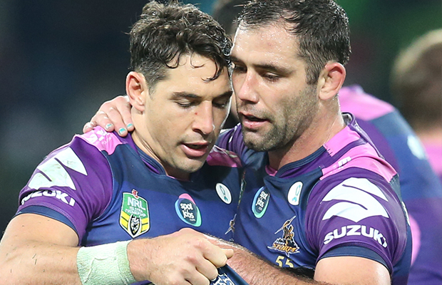 Article image for Melbourne Storm icons to be honoured with statues at AAMI Park