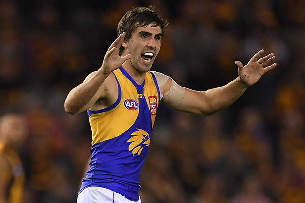 Article image for Andrew Gaff re-signs with West Coast