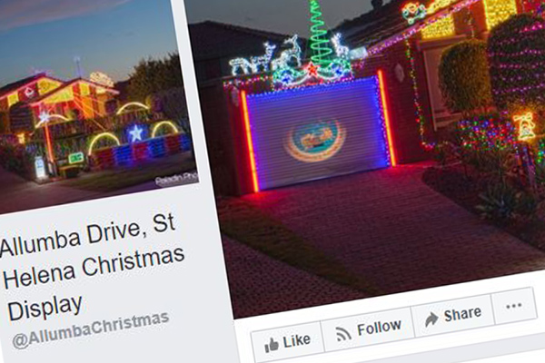 Article image for Rumour confirmed: Second suburban Christmas lights display pulls the pin