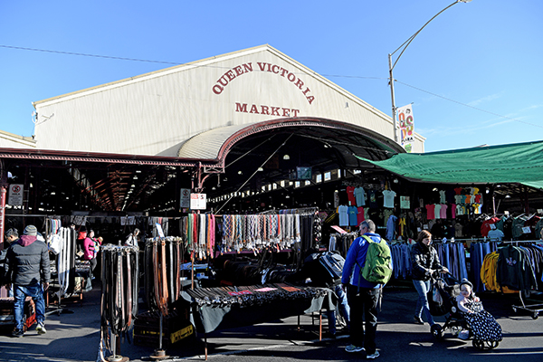 Article image for Queen Victoria Market traders 'took umbrage' with Neil's comments last week