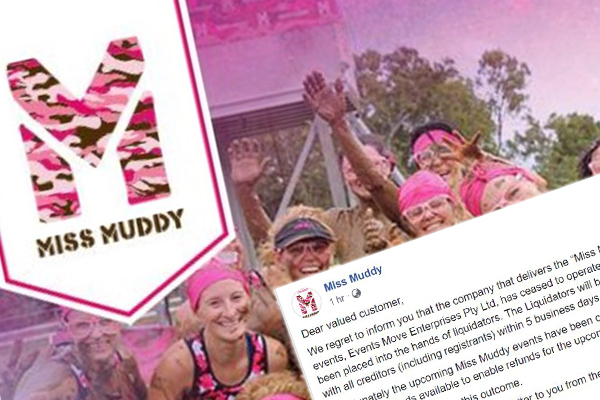 Article image for Update | Miss Muddy ticket holder manages to get a refund after charity events were called off around the country