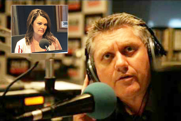 Article image for Sarah Hanson-Young apologises to Ray Hadley after incorrectly laying blame for gender-based comments