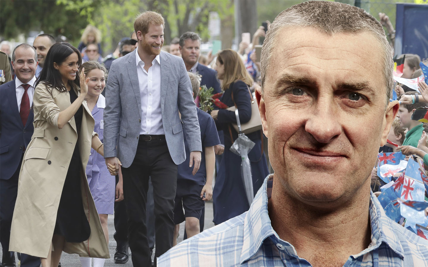 Article image for 'We love having them in our lives': Tom endorses Royal family after day out in Melbourne