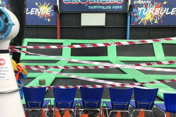 """Article image for """"It's really quite sinister"""": Trampolines sabotaged at Altona North Airodrome"""