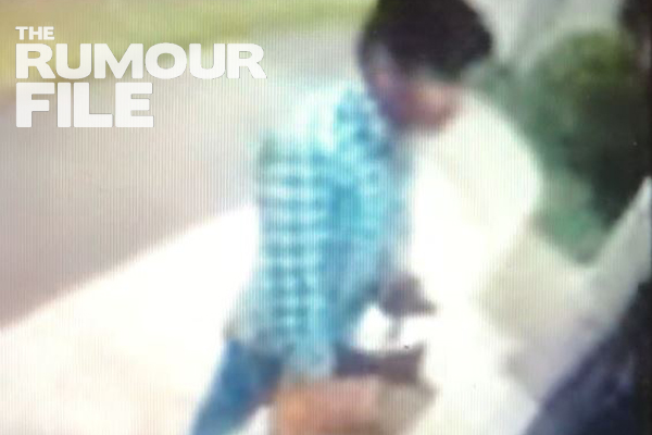 Article image for Caught on CCTV: Food delivery driver sneaks a chip at customer's front door