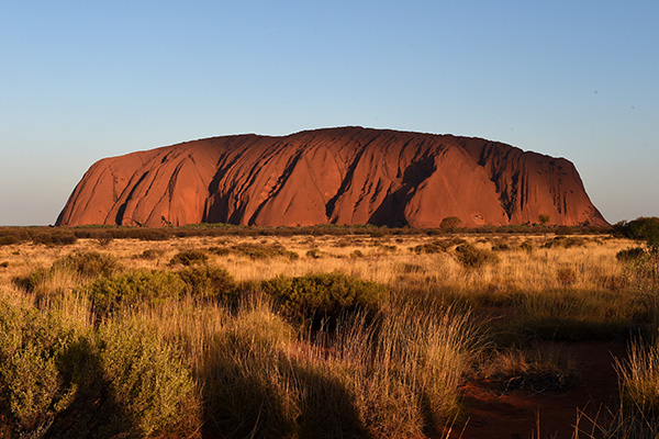 Article image for 'Something all Australians should share in': Campaign to reverse ban on climbing Uluru