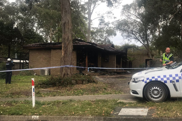Article image for Woman found after house fire in Upwey